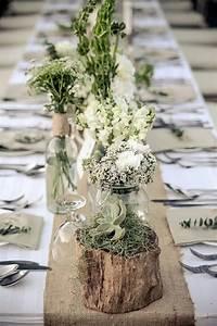 Tischdeko Schwarz Weiß Ideen : tischdeko mit holz kreative ideen f r rustikalen und nat rlichen look ~ Bigdaddyawards.com Haus und Dekorationen