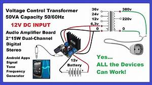 Make Dc To Ac Inverter With Mobile