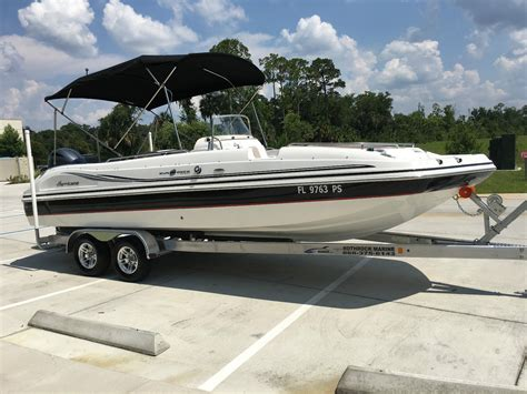 Hurricane Boats For Sale by Hurricane 231 Deck Boat Boat For Sale From Usa