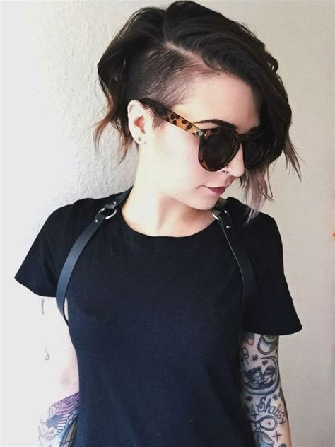 side shaved hairstyles for girls 20 adorable short hairstyles for girls popular haircuts