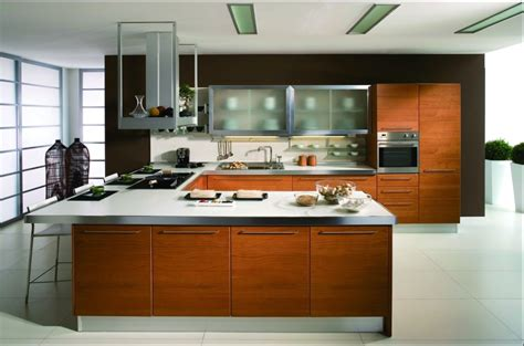 wood veneer kitchen cabinets 5 different types of kitchen well suited for indian culture 1614