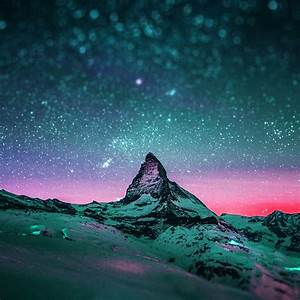 Wallpapers of the week: starred night sky