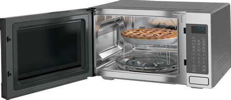 microwave convection oven ge countertop cafe cu ft profile series cooking microwaves stainless steel appliances 1000 watt built electric general