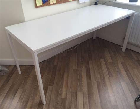 ikea meltorp ikea melltorp 1 75 m long dinning table for 6 desk in barnet london gumtree