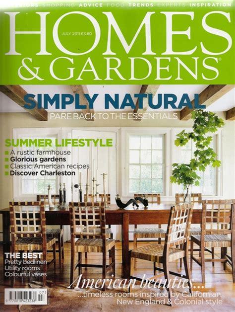 the lansdown bench in homes gardens magazine ironart