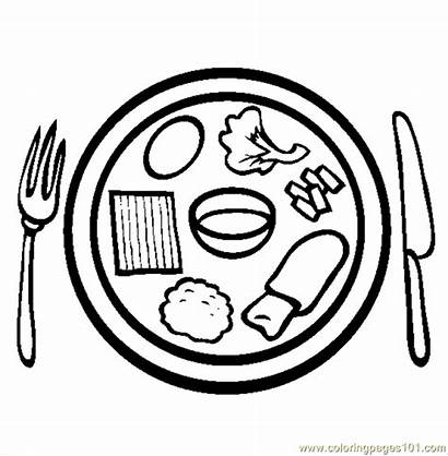 Passover Coloring Meal Pages Drawing Sheets Ready