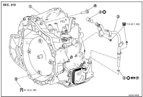 exploded view   nissan versa manual gearbox