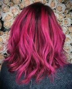 Acheter Coloration Rouge Framboise : 1001 looks r ussis pour des cheveux couleur framboise ~ Melissatoandfro.com Idées de Décoration