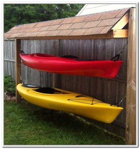 outdoor kayak storage ideas kayak storage kayak