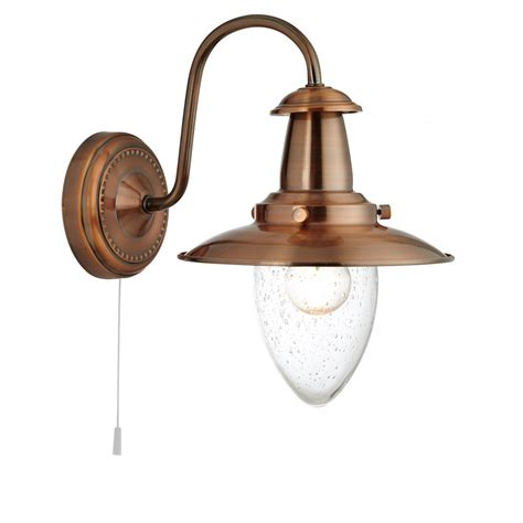 searchlight 5331 1co fisherman 3 light copper wall light