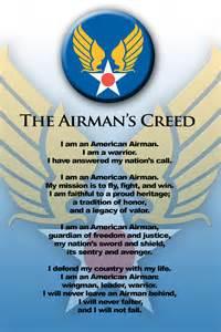 Us Air Force Airman Creed