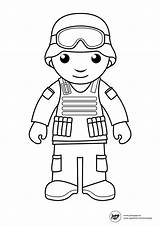 Soldier Coloring Pages Print sketch template