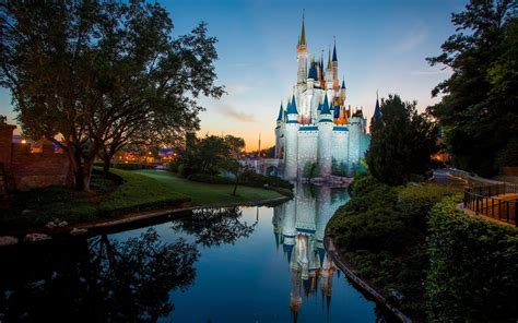 Disney World Castle Wallpaper by Disney World Wallpapers 56 Images