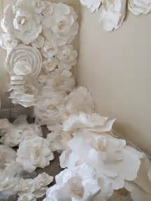Flower Giant Paper Rose Template