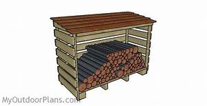 9 Free Firewood Storage Shed Plans