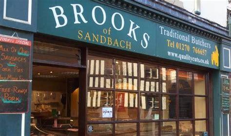 brooks  sandbach traditional butchers