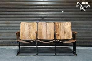 Objet Deco Cinema : produit int rieur brut mobilier et objets d co esprit vintage ~ Melissatoandfro.com Idées de Décoration