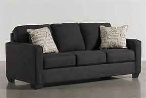 Alenya Charcoal Sofa - Living Spaces
