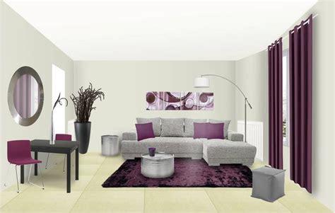 canapé couleur prune idee deco salon canape gris 28 images divagations