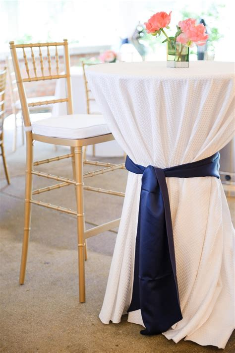nautical table ls 32 best cocktail reception nautical navy white theme