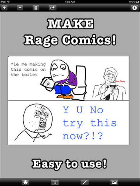 Rage Meme Creator - rage comic maker on the app store