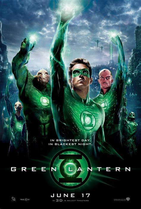green lantern poster green lantern trailer