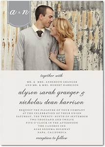 top 5 photo wedding invitations to set the mood for your With wedding invitations with photograph