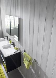 Solution deco du lambris dans la salle de bain trouver for Salle de bain en lambris pvc