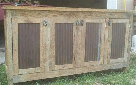 credenzas rustic barn  dressers cabinets  pinterest
