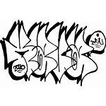 Graffiti Throw Drawing Alphabet Lettering Font Throwup
