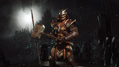 Was Finally Able To Build Classic Shao Kahn. The Skin Was