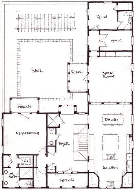 shaped home  office plans container homes