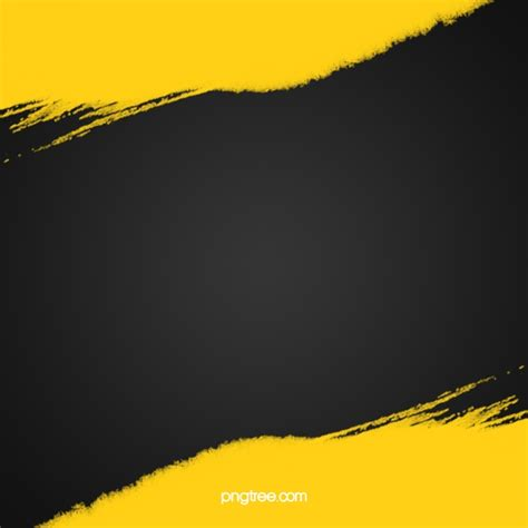 Abstract Black And Yellow Design by Yellow And Black Ink Abstract Background Abstract Ink
