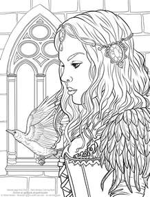 Adult Gothic Coloring Pages