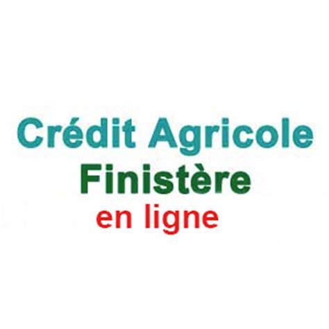 credit agricole du finistere en ligne comptes sur www ca finistere fr