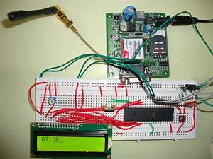 Gsm Module Interfacing With 8051 Microcontroller  At89s52