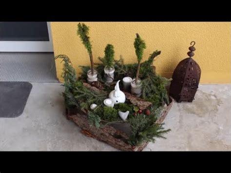 Advent Deko Für Draußen by Diy Advent Weihnachten Deko 2015 F 252 R Aussen Aussendeko