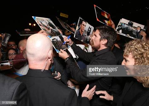 Actor Christian Bale Attends The Premiere Broad Green