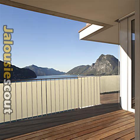 Balkon Sichtschutz Günstig Kaufen by Balkonbespannung Balkonumspannung Windschutz Sichtschutz