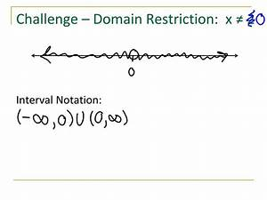 PPT - Domain and Interval Notation PowerPoint Presentation ...