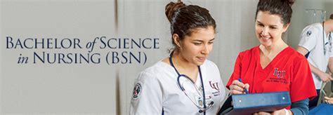 bachelor  science  nursing nursing degree school