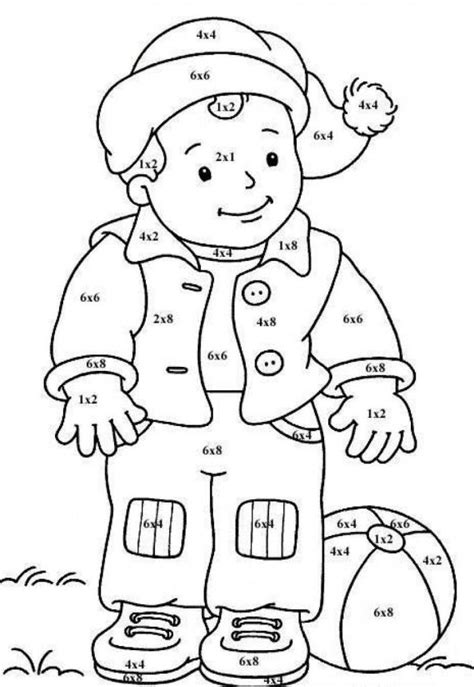 free coloring pages of math