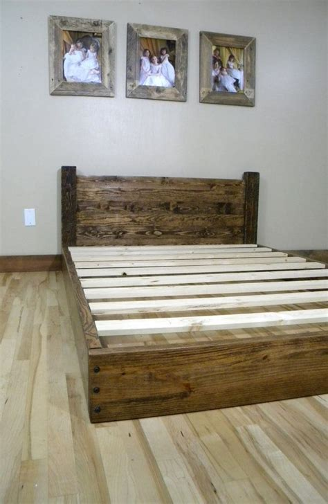 platform bed full bed bedframe wood bedframe full