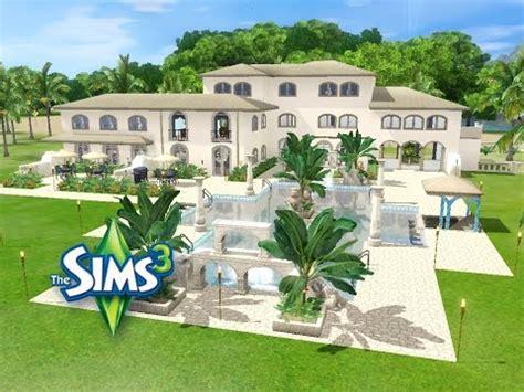 sims 3 loft bauen sims 3 haus bauen let s build villa coloniale schicke villa f 252 r 3 generationen am meer