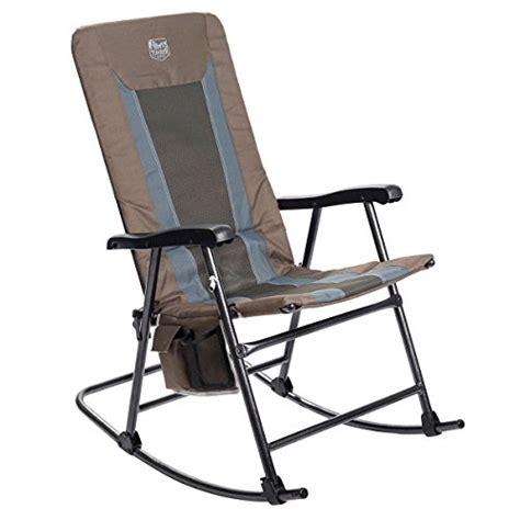 folding rocking camping chairs   amazon