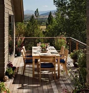 Balkon Handlauf Holz : 102 balkongel nder ideen welches material und design ~ Lizthompson.info Haus und Dekorationen
