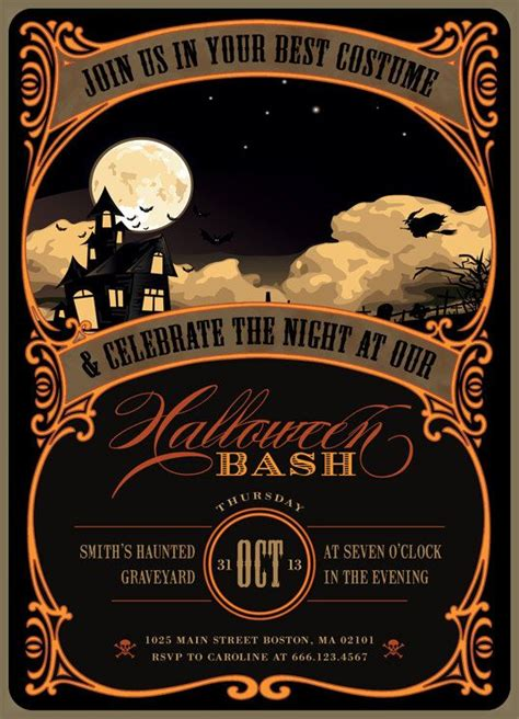 Halloween Invitation Ideas The Xerxes