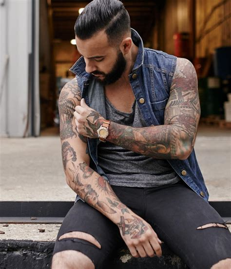 striking sleeve tattoo ideas  men  accentuate  arms