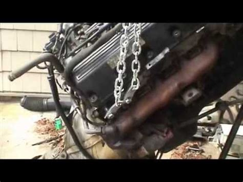 how cars engines work 1995 ford crown victoria engine control 1995 ford crown victoria engine and transmission removal youtube