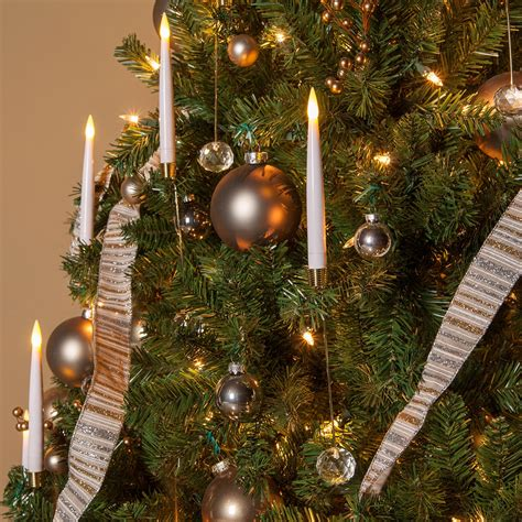 novelty lights  led christmas tree taper candles